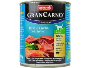 Animonda GRANCARNO konz. ADULT losos/špenát 800g