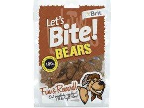Brit pochoutka Let's Bite Bears 150g NEW