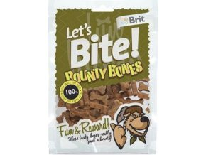 Brit pochoutka Let's Bite Bounty Bones 150g NEW