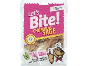 Brit pochoutka Let's Bite Chompin' Sage 150g NEW
