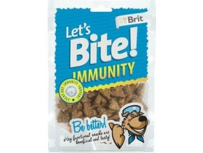 Brit pochoutka Let's Bite Immunity 150g NEW
