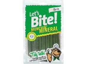 Brit pochoutka Let's Bite Munchin' Mineral 105g NEW