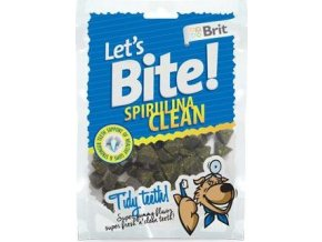 Brit pochoutka Let's Bite Spirulina Clean 150g NEW