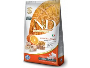 N&D LG DOG Adult Codfish & Orange 12kg