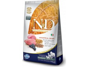 N&D LG DOG Adult Lamb & Blueberry 12kg
