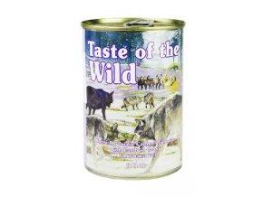 Taste of the Wild konzerva Sierra Mountain 390g
