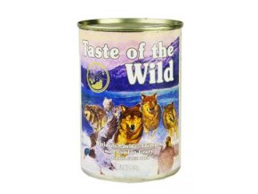 Taste of the Wild konzerva Wetlands Wild Fowl 390g