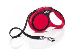 Vodítko flexi Comfort XS pásek 3m/12kg červená