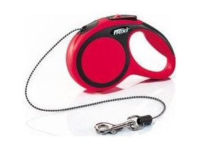 Vodítko flexi Comfort XS lanko 3m/8kg červená