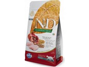 N&D LG CAT Adult Chicken & Pomegranate 5kg
