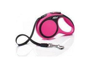 Vodítko flexi Comfort XS pásek 3m/12kg růžová