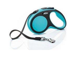 Vodítko flexi Comfort S pásek 5m/15kg modrá
