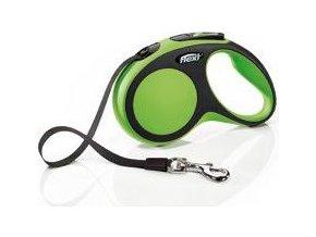 Vodítko flexi Comfort S pásek 5m/15kg zelená