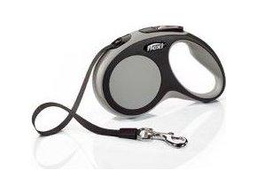 Vodítko flexi Comfort S pásek 5m/15kg šedá