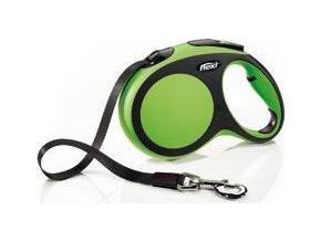Vodítko flexi Comfort M pásek 5m/25kg zelená