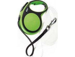 Vodítko flexi Comfort L pásek 8m/50kg zelená