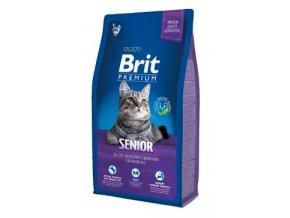 Brit Premium Cat Senior 8kg NEW