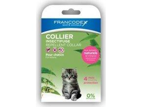 Francodex Obojek repelentní kotě