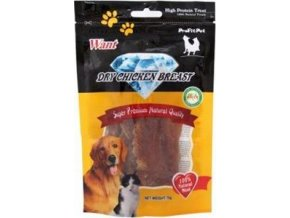 Want Dog poch. Chicken Breast  70 g
