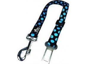 Bezpečnostní pás DINOFASHION modrý puntík