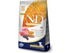 N&D LG DOG Puppy Mini Lamb & Blueberry 800g