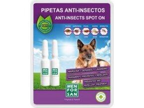 Menforsan Spot on pipety pro psy antipar. 2x1,5ml