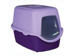 WC kočka kryté domek VICO 40x40x56 TR fialová/šeříková