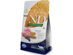 N&D LG CAT Adult Lamb & Blueberry 5kg