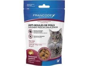 Francodex Pochoutka Hairball kočka 65g