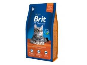 Brit Premium Cat Indoor 8kg NEW