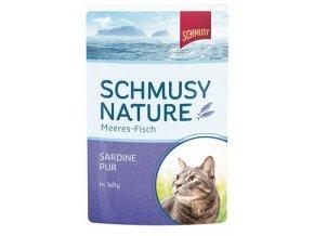 Schmusy Cat kapsa Fish sardinky v želé 100g