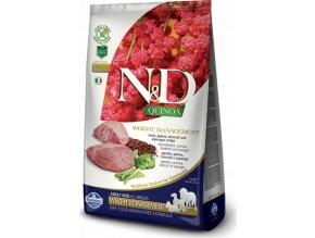 N&D Quinoa DOG Weight Management Lamb & Broccoli 2,5kg