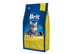 Brit Premium Cat Adult Salmon 8kg NEW
