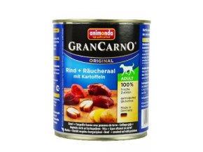 Animonda GRANCARNO konz. ADULT úhoř/brambor 800g