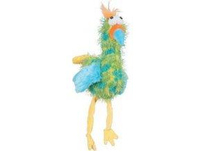 Hračka pes BIRDY ROCK plyš zelená 35cm Zolux