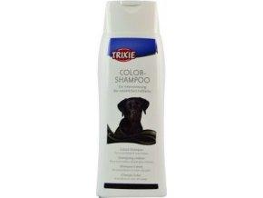 Šampon Color tónovací černá srst pes Trixie 250ml