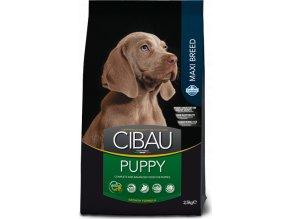 CIBAU Puppy Maxi 12kg+2kg ZDARMA
