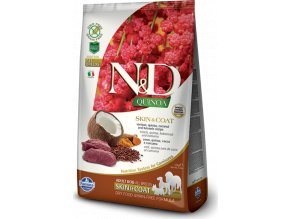 N&D Quinoa DOG Skin & Coat Venison & Coconut 800g