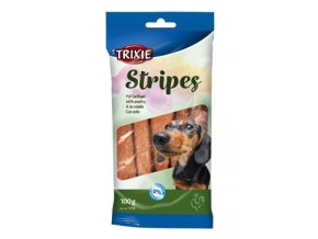 Trixie STRIPES light drůbeží pro psy 10ks 100g TR