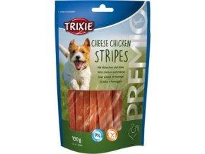Trixie Premio CHICKEN CHEESE STRIPES se sýrem 100g TR