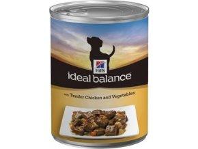 Hill's Canine Ideal B. Adult kuře a zelenina konz 360g