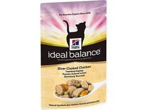 Hill's Feline Ideal B. Adult dušené kuře kapsa 85g