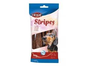 Trixie STRIPES light hovězí pro psy 10ks 100g TR