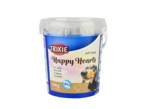 Trixie Soft Snack Happy Hearts srdíčka jehněčí 500g TR