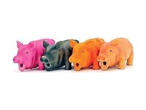Hračka Pes Latex PraseTalking Pig, béžová, 23cm Lill