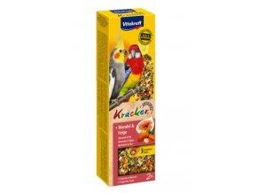 Vitakraft Bird Kräcker  honey parrot  fruit tyč 2ks