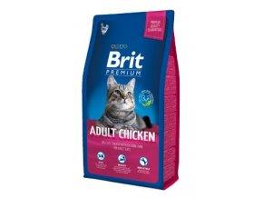 Brit Premium Cat Adult Chicken 8kg NEW