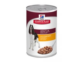 Hill's Canine  konz. Adult Chicken 370g