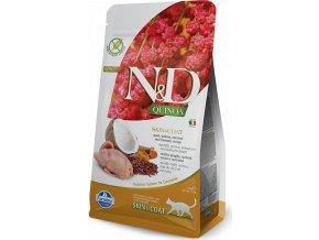 N&D Quinoa CAT Skin & Coat Quail & Coconut 300g
