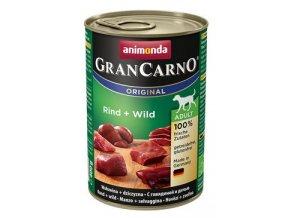 Animonda GRANCARNO konz. ADULT hovězí/zvěřina 400g